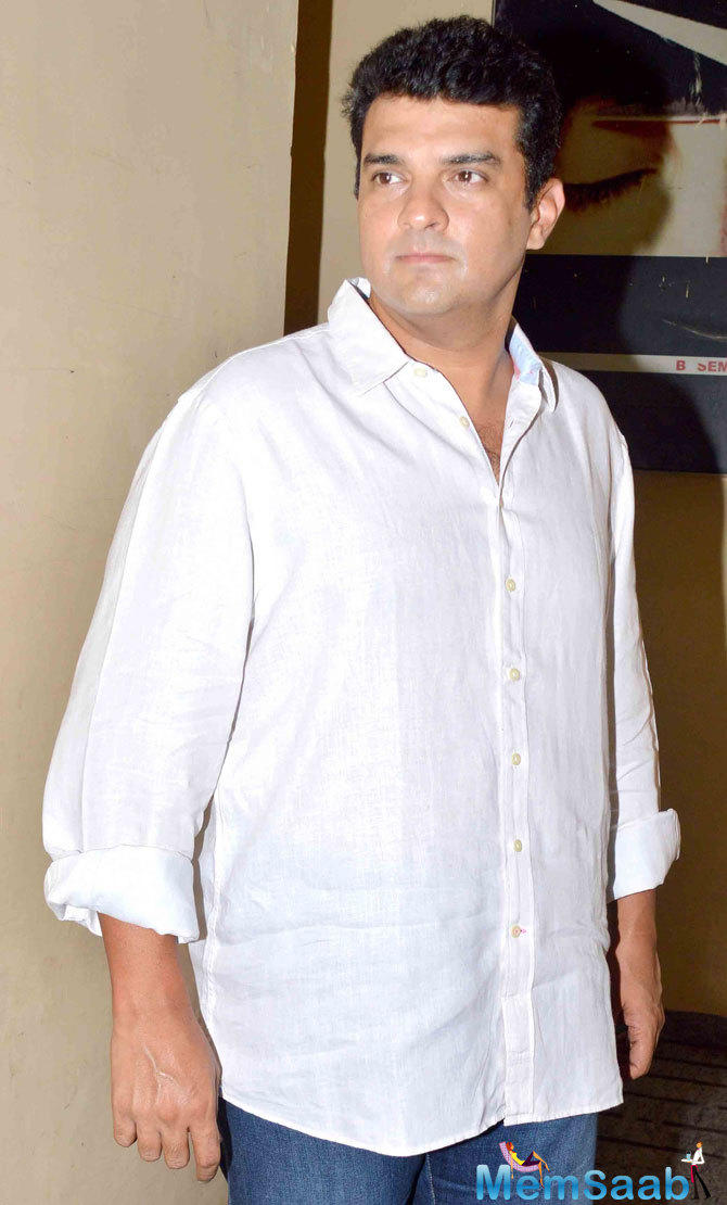 Siddharth Roy Kapur Present At The Screening Of ABCD 2 Movie