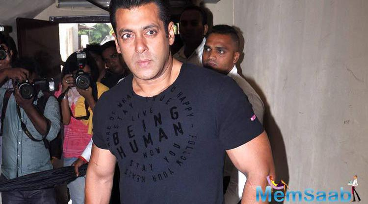 Salman And His Antics At The Trailer Launch Of Bajrangi Bhaijaan