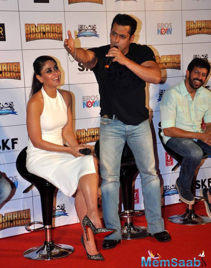 Salman Khan Told Reporters At The Launch Of Bajrangi Bhaijaan Trailer