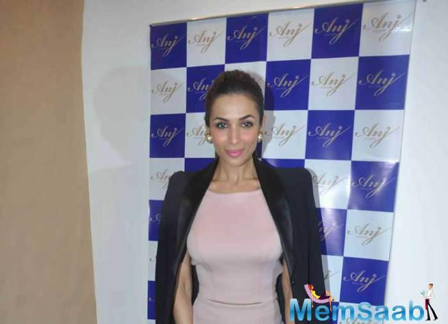 Malaika Arora Khan Launched The Store Of ANJ Couture At Bandra