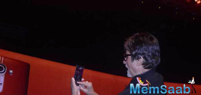 Bollywood Actor Amitabh Bachchan Launch Lg G4 Smartphone