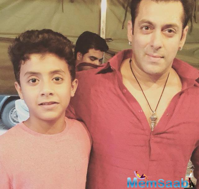 Salman Shoots For The Eid Number