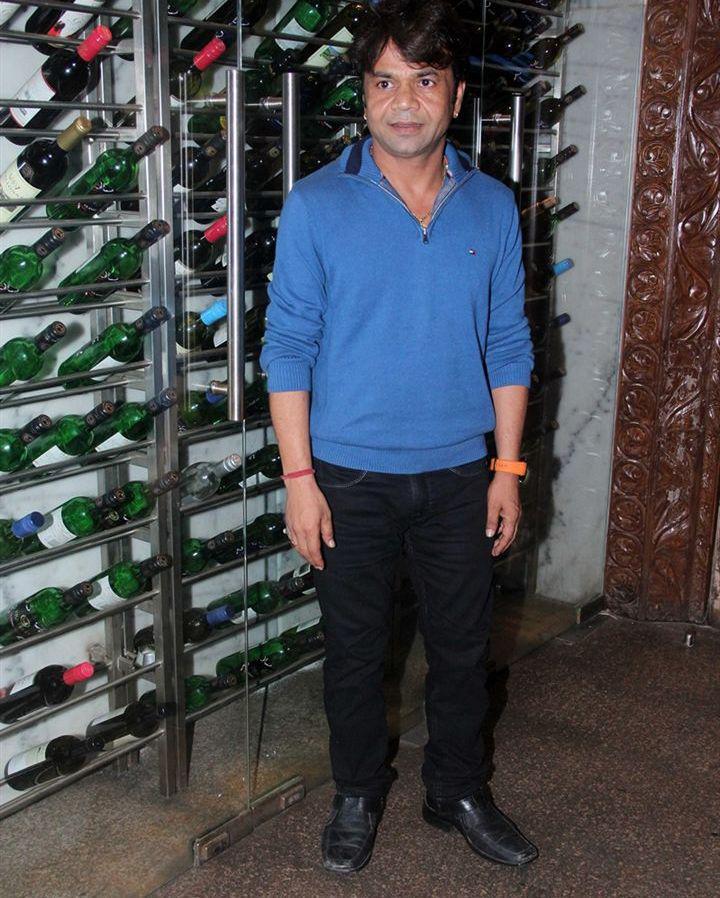 Rajpal Yadav Strikes A Pose At The Promo Launch Of Thoda Lutf Thoda Ishq