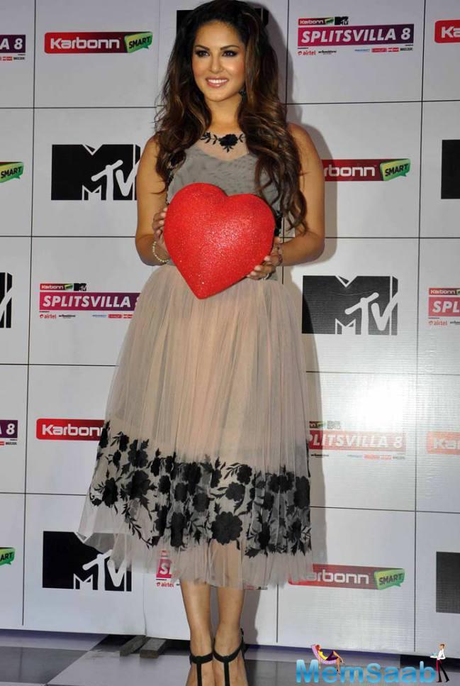 Sunny Leone Will Be Seen Reprising Her Role As A Host For The MTV Splitsvilla' Season 8