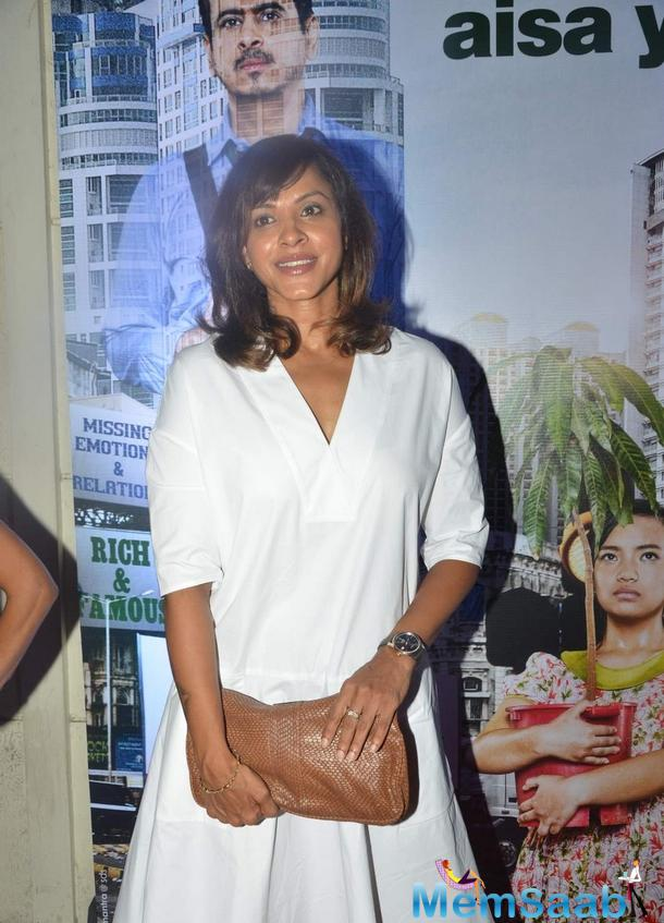 Manasi Scott Attend The Trailor Launch Of Aisa Yeh Jahaan