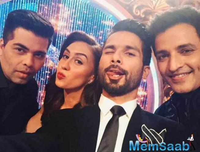 Naughtiest Pose Of Judge's At  First Day Of Jhalak Dikhhla Jaa 8