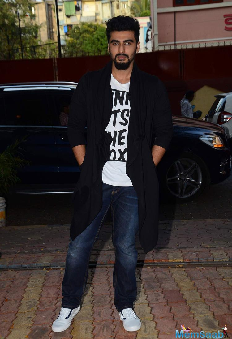 Arjun Kapoor Arrived The Launch Of Debashish Irengbam Me Mia Multiple Book