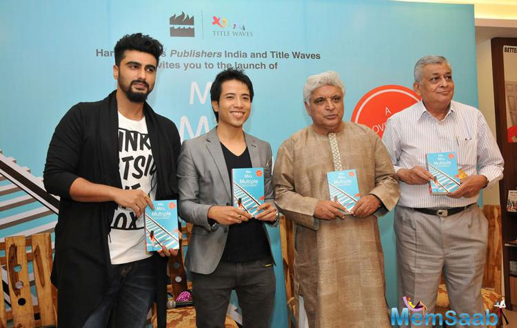 Arjun Kapoor,Debashish Irengbam And Javed Akhtar Launch Me Mia Multiple Book