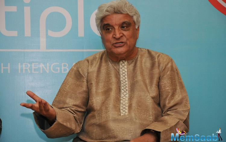Javed Akhtar Interact During The Launch Of Debashish Irengbam Me Mia Multiple Book