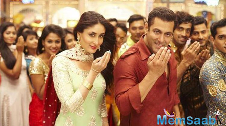 First Look Of Eid Song Aaj Ki Party Meri Taraf Se From Bajrangi Bhaijaan