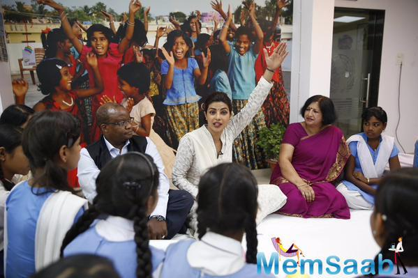 Priyanka Chopra Talks To School Children In Bhopal About Simple Ways To Prevent Anemia