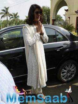 Priyanka Spotted In Bhopal For Spoke About The Importance Of Anaemia