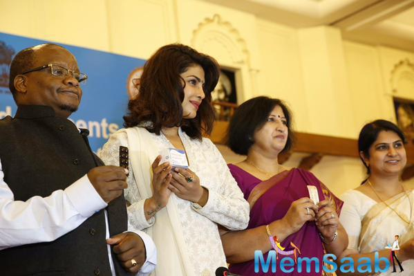 UNICEF Ambassador Priyanka Chopra Talks About Anaemia Prevention In Adolescents