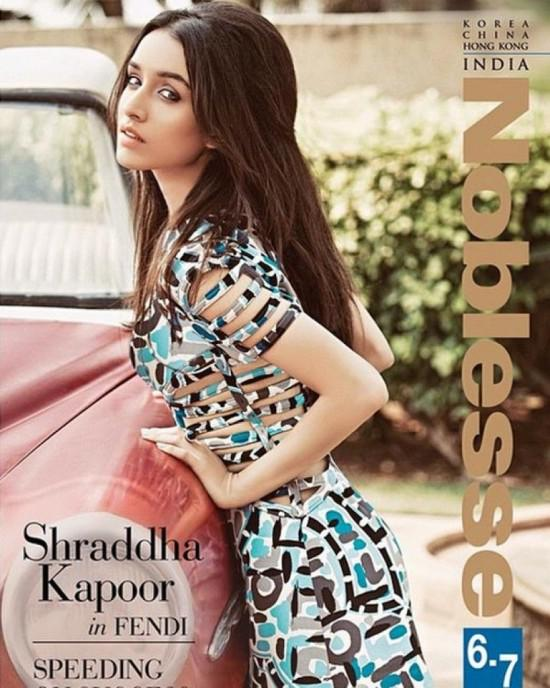 Shraddha Kapoor Sizzles On Cover Of Noblesse India Magazine June 2015 Issue