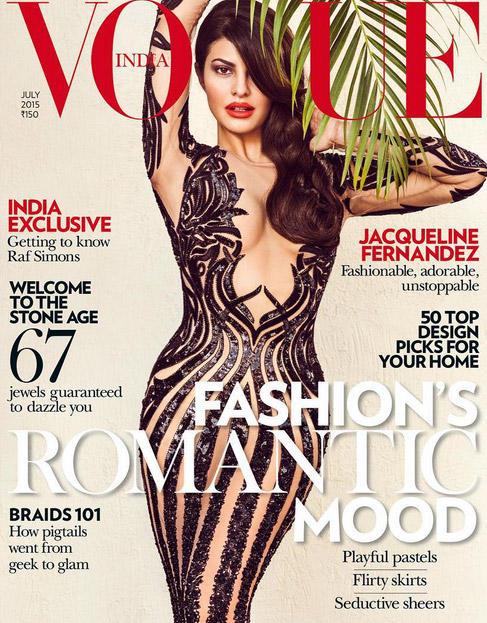 Jacqueline Fernandez Ups The Heat On Vogue Cover