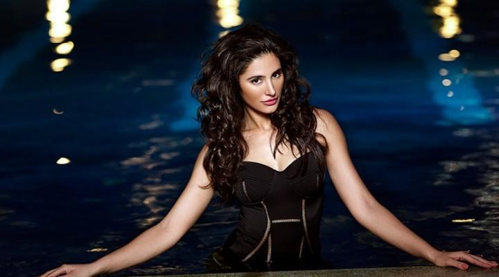 Nargis Fakhri Charming Hot Look Shoot For Castel Royale Ad Campaign