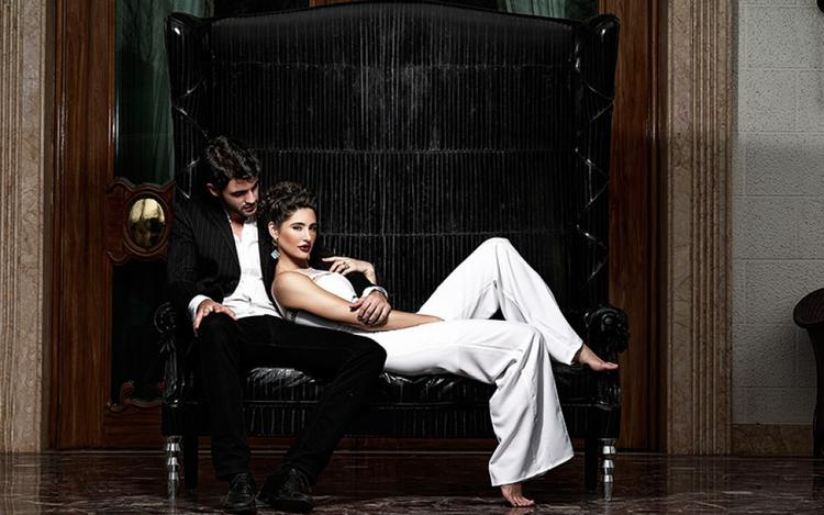 Nargis Fakhri Latest Hot Photo Shoot For Castel Royale Ad Campaign