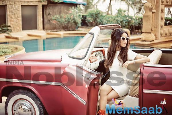 Shraddha Kapoor Stunning Pose For Noblesse Magazine June July Issue