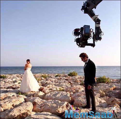 Hrithik Roshan And Sonam Kapoor Shoot For Dheere Dheere Se