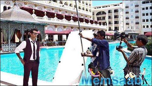 Hrithik Roshan In Turkey For Dheere Dheere Se Romantic Song Shoot