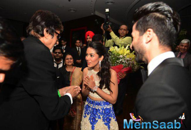 Amitabh Bachchan Blessed The Newly Wed Couple Shahid Kapoor And Mira Rajput