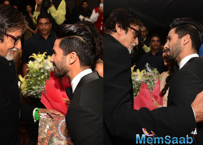 Big B Congratulate And Blessed The Newly Wed Couple Shahid And Mira
