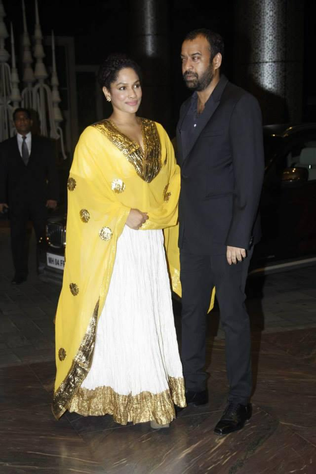 Masaba Gupta Attend Shahid Kapoor And Mira Rajput Wedding Reception