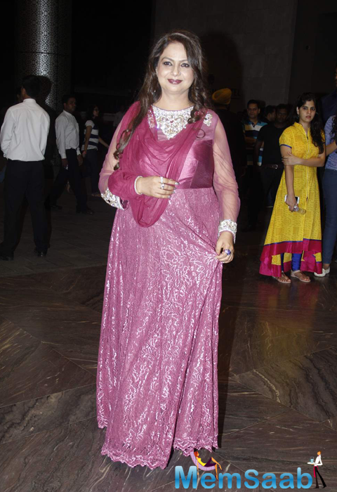 Neelima Azeem Beautiful Look At Her Son Shahid Kapoor Wedding Reception