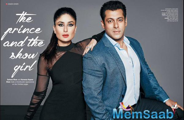 Salman And Kareena Look Breathtakingly Hot On The Filmfare Cover