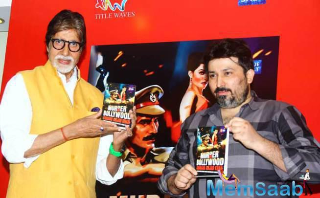 Big B Launched A Book, Murder In Bollywood Written By Late Actor Amjad Khan's Son Shadaab