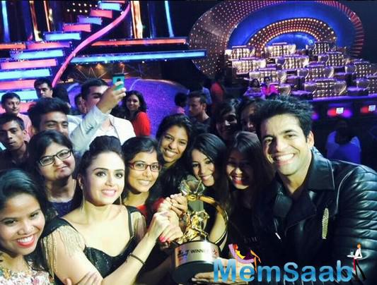 Himmanshoo And Amruta Win The Trophy Of Nach Baliye 7