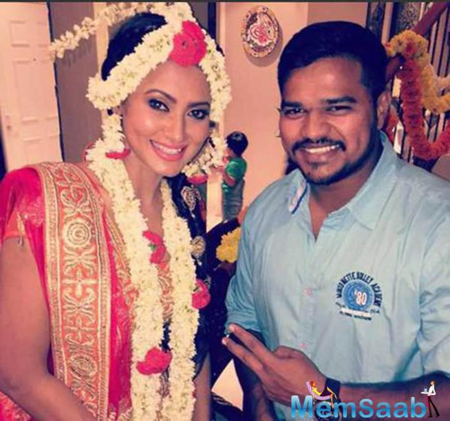 Nigaar Khan Thanked Fans And Friends For Their Wishes On Her Wedding.