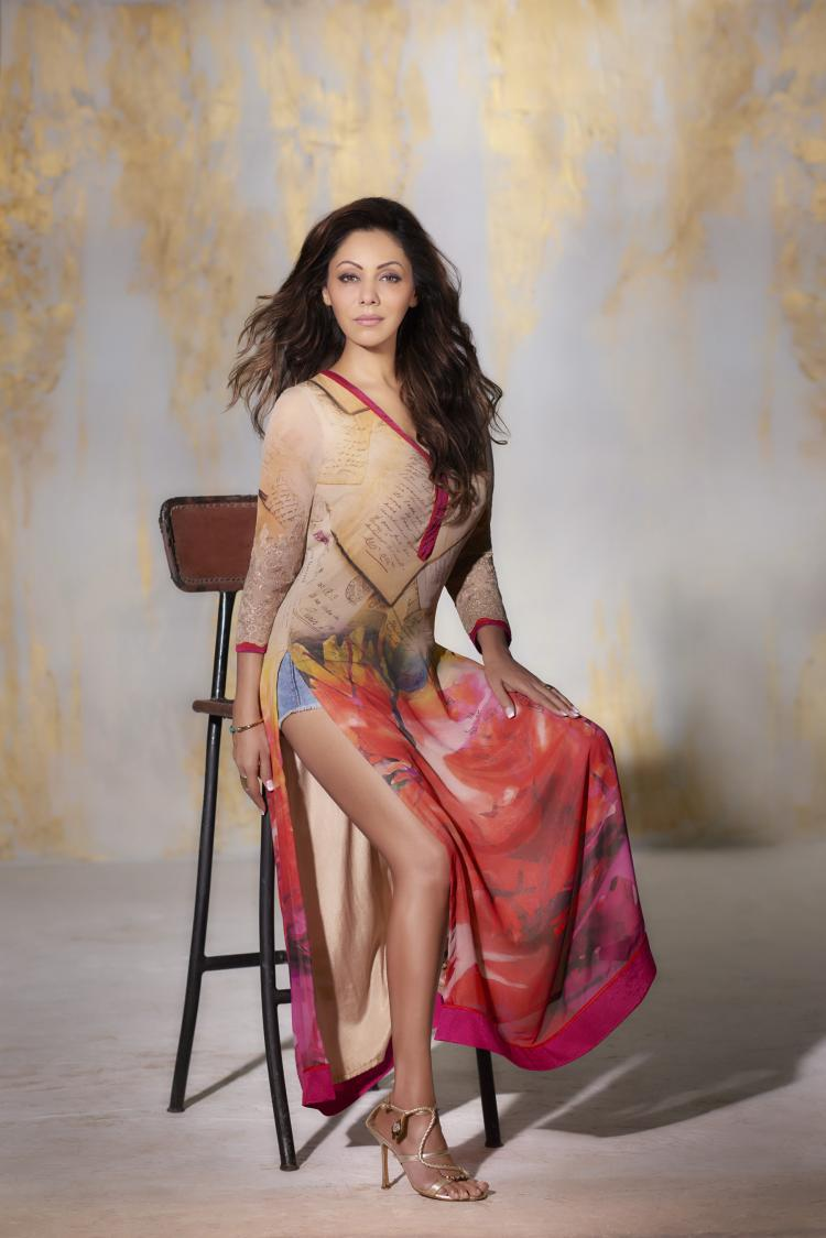 Gauri Khan Wearing The PS Kaftan From The AW Collection