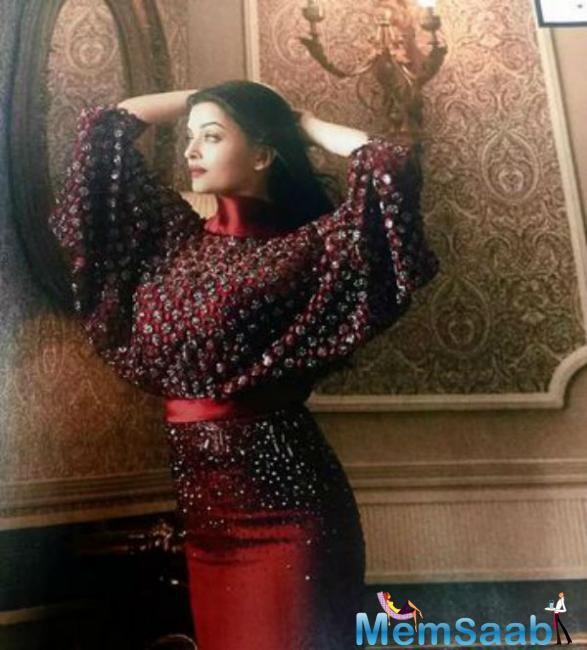 Aishwarya Rai On Hello India Magazine Cover August 2015 Issue