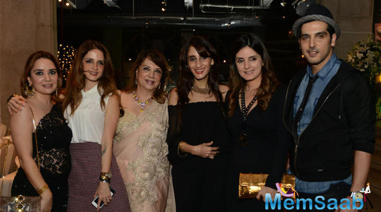 Khan Family Support To Get Together For Mom Zarine Khan's Book Launch