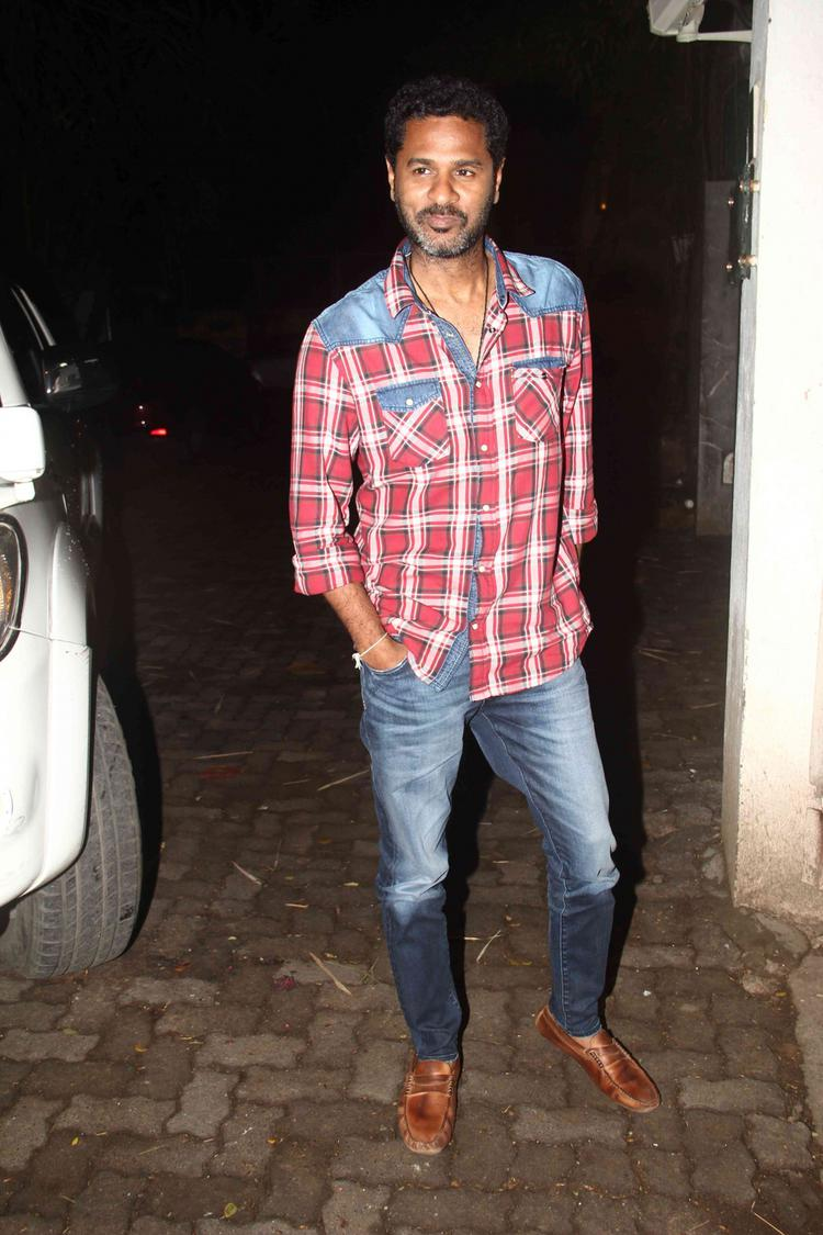 Prabhu Deva Arrived To Attend The Special Screening Of Brothers Movie