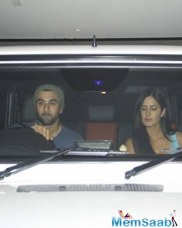 Ranbir And Katrina Make A Grand Entry For Brothers Screening