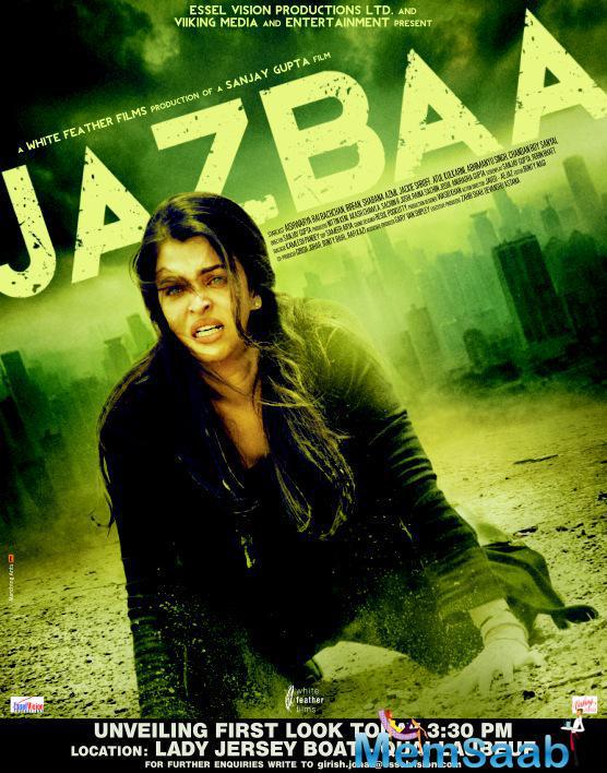 Aishwarya Rai Bachchan In Jazbaa First Look Poster