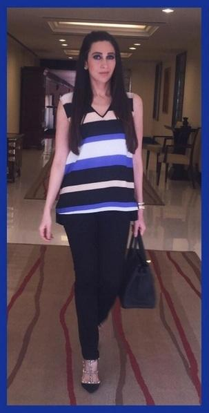 Karisma Kapoor Looked The Perfect Corporate Lady