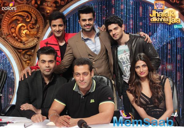 Salman Khan Rocks JDJ With His 'Heroes' Sooraj And Athiya