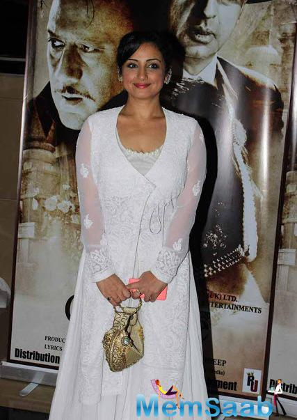 Divya Dutta Attend The Premier Of Chehere Movie