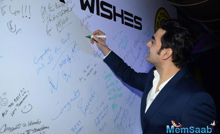 Arbaaz Khan Present During The Launch Of Transform Gym
