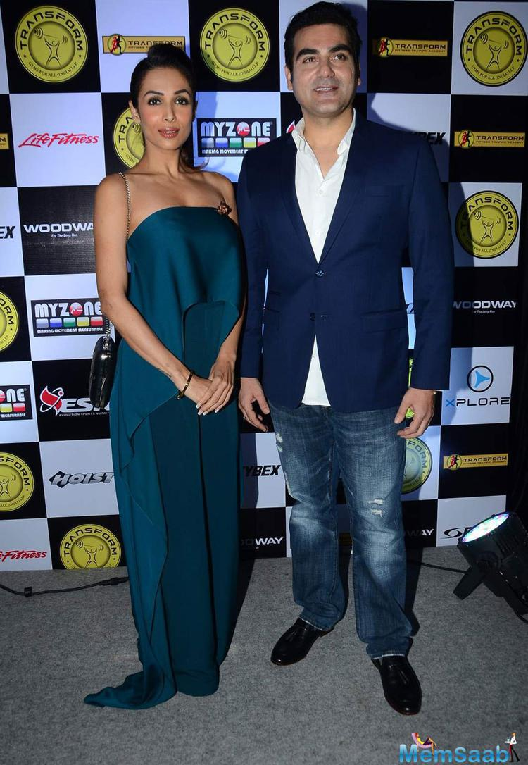 Malaika Arora Khan And Arbaaz Khan Make A Stylish Entry At A Launch Event