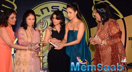 Malaika Arora Khan Lighted The Ceremonial Lamp To Inaugurated The Transform Gym