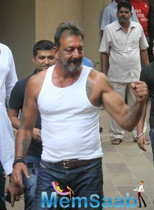Famous Bollywood Actor Sanjay Dutt Was Granted A 30-Day Release From Prison