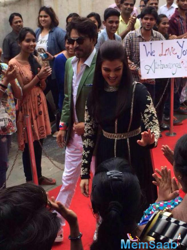 Aish Meet Her Crazy Fan During Jazbaa Promotion At DID Season 5