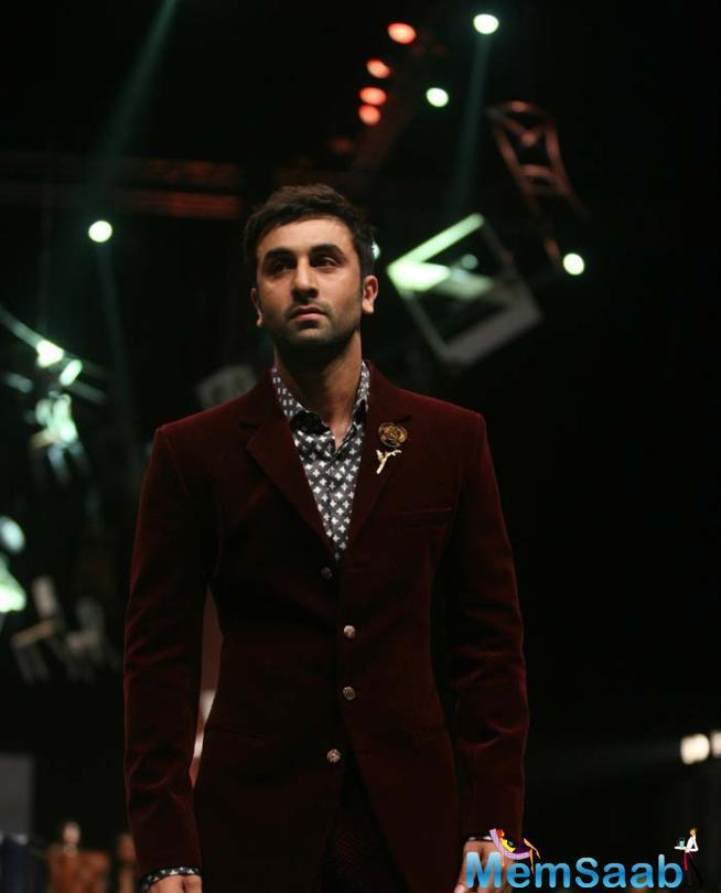 Ranbir Kapoor Walked The Ramp With Grace And Absolute Elan And Added The Charm To The Show