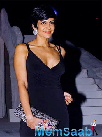 Mandira Bedi Cool Stunning Look At The Grand Finale Of LFW 2015