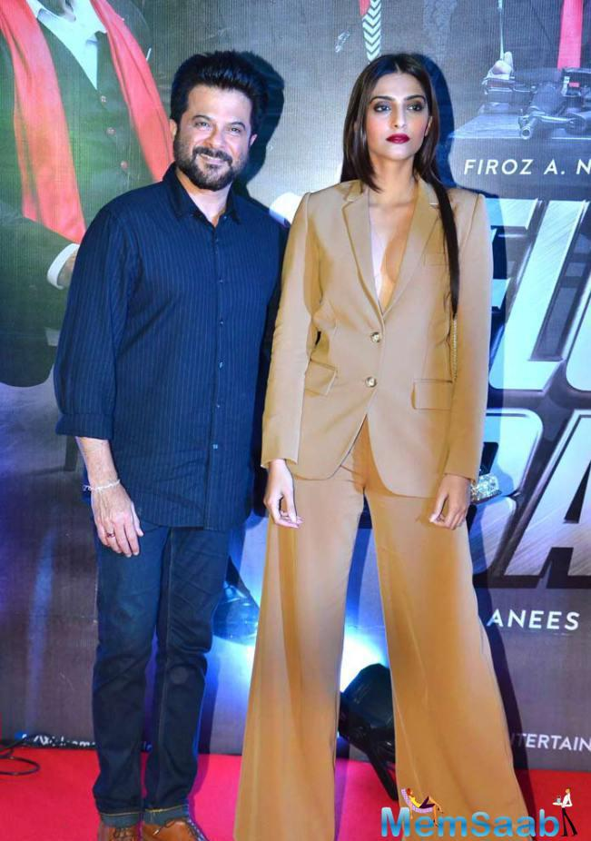 Sonam And Anil Grace's For Welcome Back Special Screening Screening