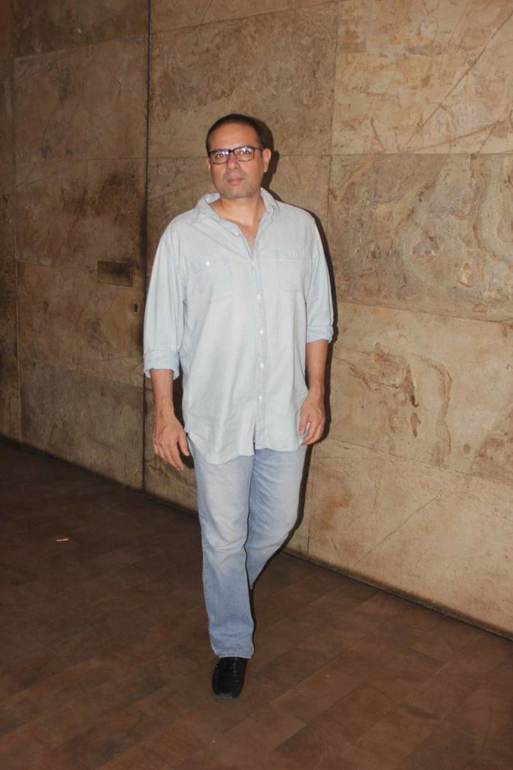 Atul Agnihotri Posed At The Screening Of Hollywood Movie Transporter Refuelled